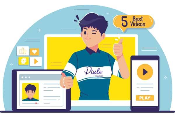 cartoon explainer videos